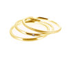 Ring Set Trio 375 Gold mit Brillant