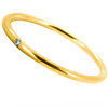 Ring 585 Gold Brillant sattgelb
